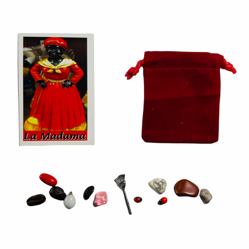 La Madama Mojo Bag For Herbalism, Home Remedies, Get Well Soon & House Blessing