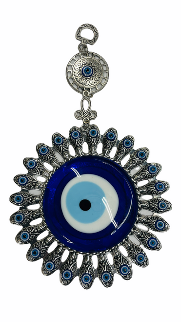 Evil Eye Flower Wall Hanging Ancient Symbol Of Protection To Ward Off Evil