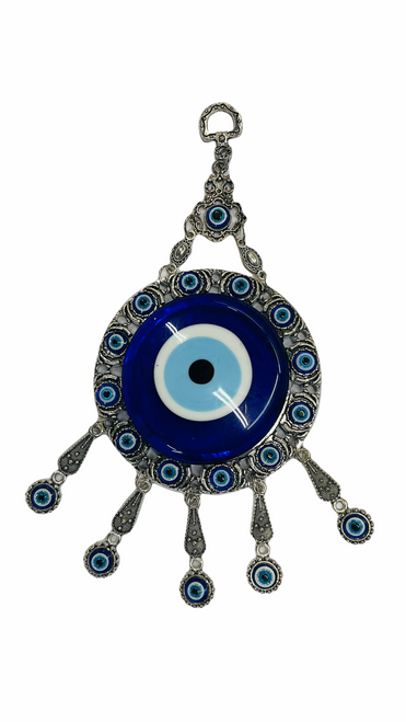 Evil Eye Tear Drop Wall Hanging Ancient Symbol Of Protection To Ward Off Evil