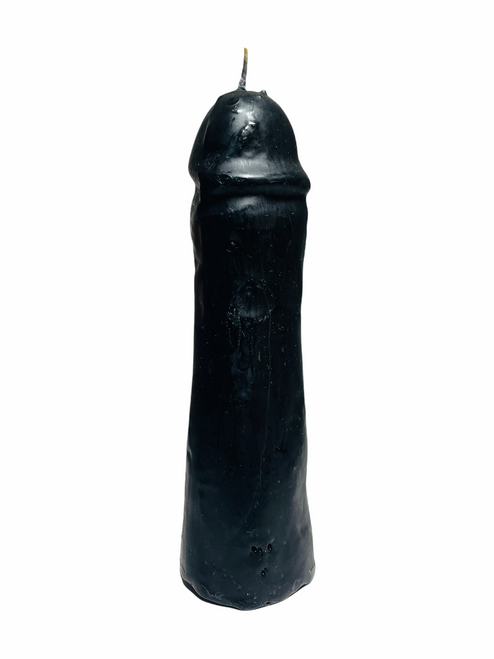 Male Penis Figure Candle To Get Him Away From Her (Black)