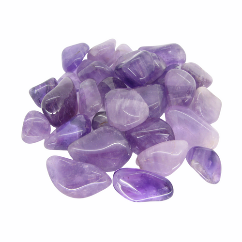 Amethyst Tumbled Gemstone For Protection, Purification, Spirituality, ETC. (1 piece)