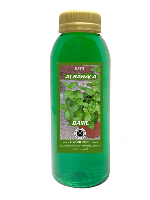 Basil (Spiritual Bath Liquid 8oz)