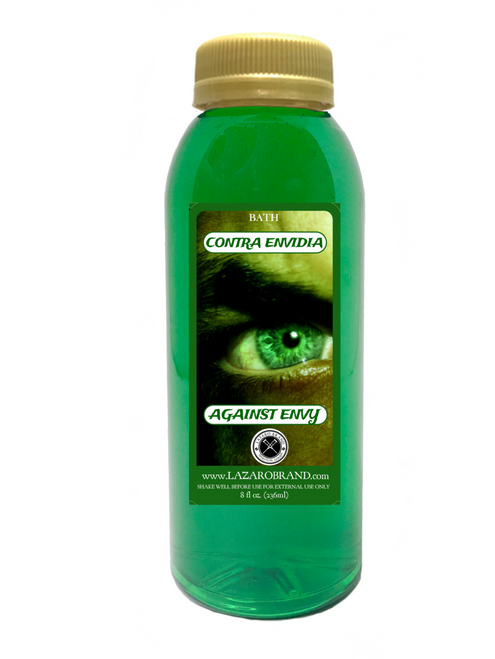 Against Envy Contra Envidia For Revenge And Vengeance On Your Enemies Get Back At Them For What They Did To You (Spiritual Bath Liquid 8oz)
