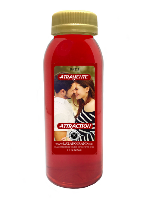 Attraction To Evoke The Power Of Sexual Magnetism Charisma Charm And Glamour For Finding A Romantic Relationship (Spiritual Bath Liquid 8oz)