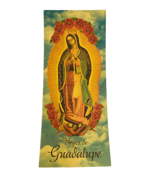 Our Lady of Guadalupe Virgen De Guadalupe Lucky Golden Spiritual Money Banknote Currency For Good Luck And Economic Protection