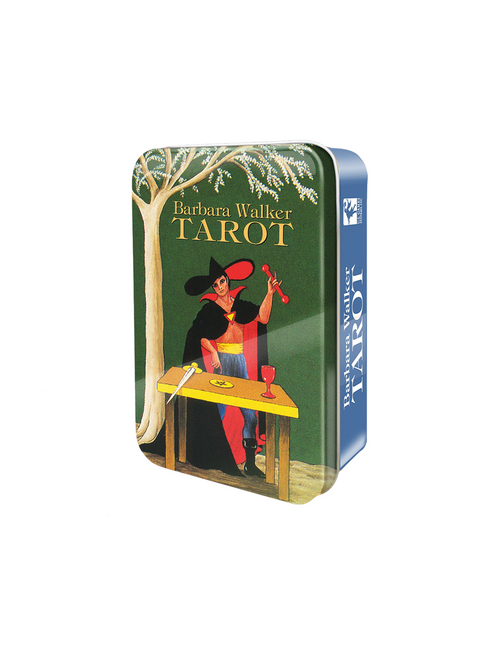 Barbara Walker Tarot Deck In A Tin by Barbara G. Walker