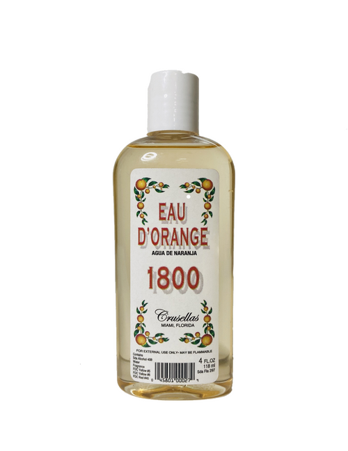 Kolonia 1800 Eau D' Orange Agua De Naranja For Elegance Beauty & Good Luck (4oz)