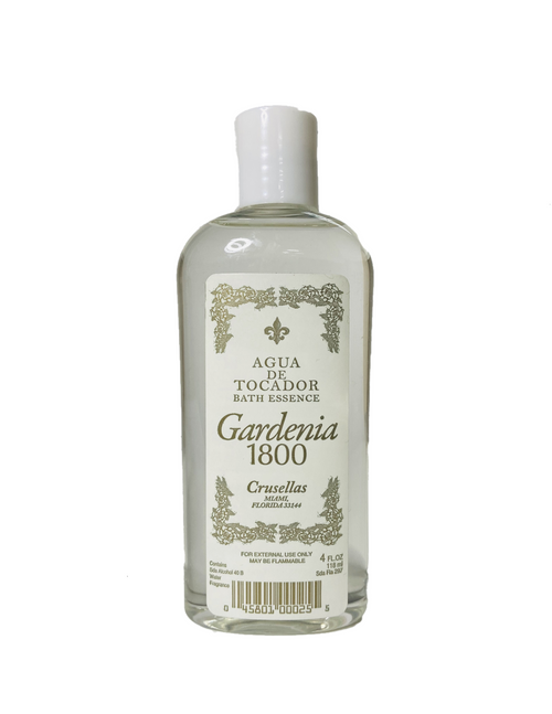 Kolonia 1800 Gardenia Bath Essence Agua De Tocador Cologne For Purity Clarity & Hope (4oz)