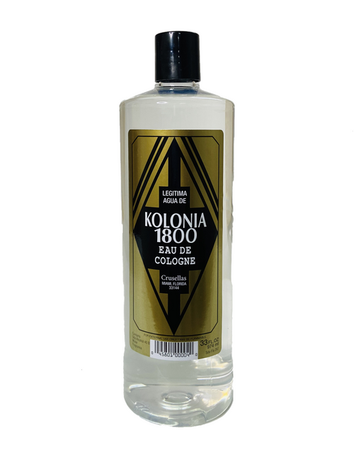 Kolonia 1800 Eau De Cologne To Attract Good Fortune (33oz)