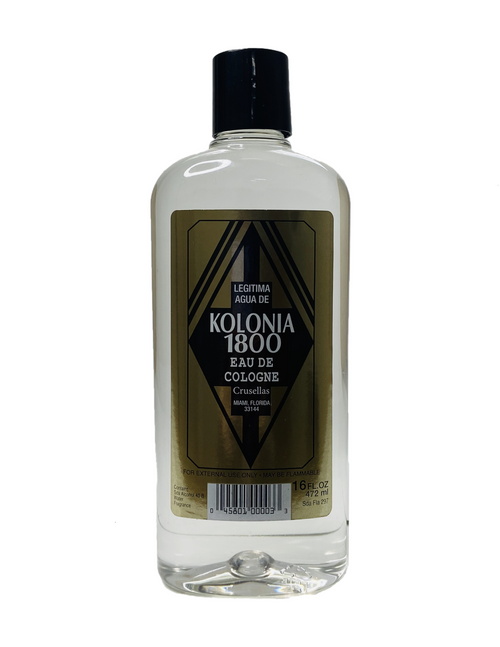 Kolonia 1800 Eau De Cologne To Attract Good Fortune (16oz)