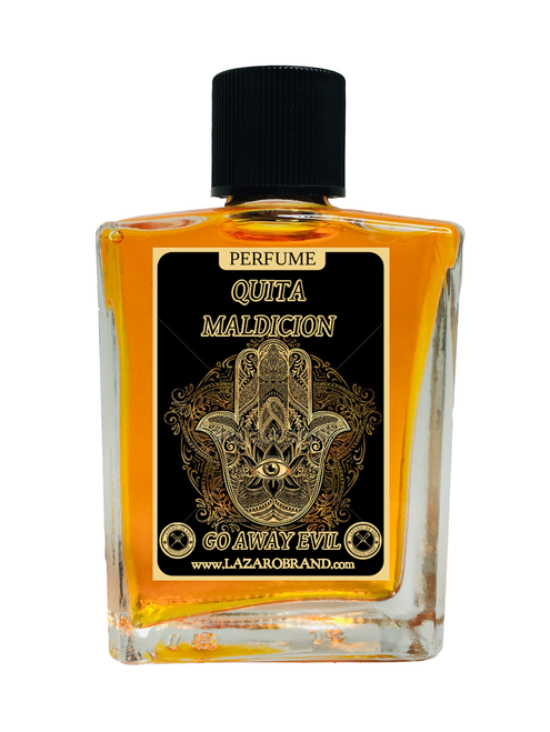 Go Away Evil Quita Maldicion Spiritual Perfume To Chase Out Evil Spirits Demons End Curses & Get Rid Of Unwanted Spirits 1oz