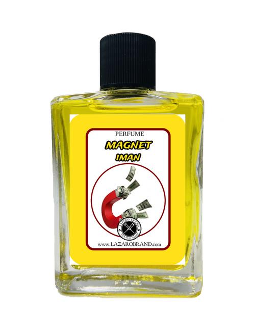 Magnet Iman Spiritual Perfume To Attract Good Luck & Financial Abundance 1oz