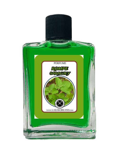 Rompe Saraguey Spiritual Perfume To Chase Out Evil Spirits Demons End Curses & Get Rid Of Unwanted Spirits 1oz
