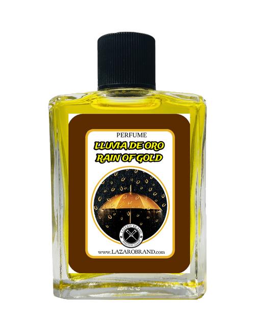 Rain Of Gold Lluvia De Oro Spiritual Perfume To Attract Good Luck & Financial Abundance 1oz