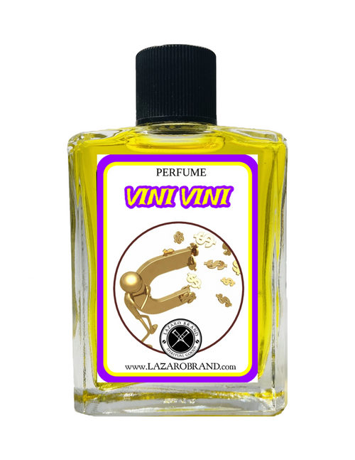 Vini Vini Spiritual Perfume To Attract Good Luck & Financial Abundance 1oz