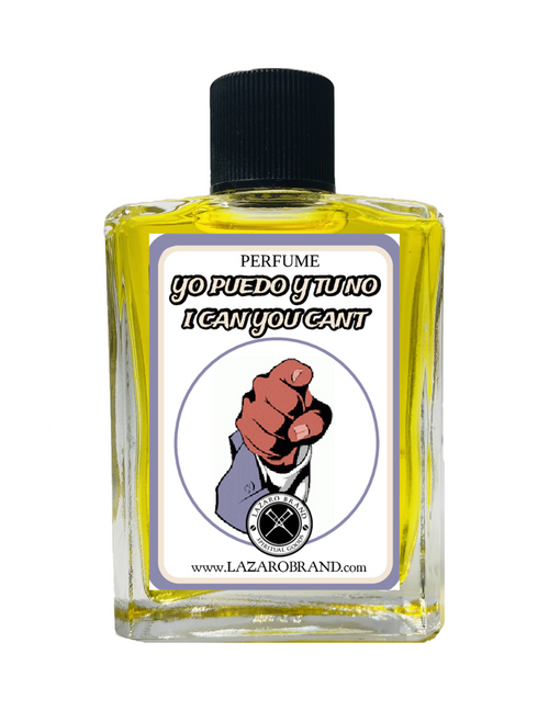 I Can You Can't Yo Puedo Y Tu No Spiritual Perfume To To Have A Commanding Influence On Someone & Exercise Control Over Them 1oz
