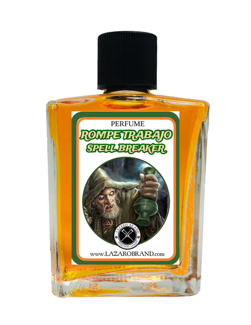 Spell Breaker Rompe Trabajo Spiritual Perfume To Chase Out Evil Spirits Demons End Curses & Get Rid Of Unwanted Spirits 1oz
