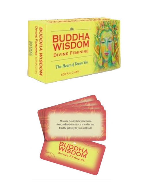 Buddha Wisdom Divine Feminine Deck by Sofan Chan : The Heart Of Kwan Yin