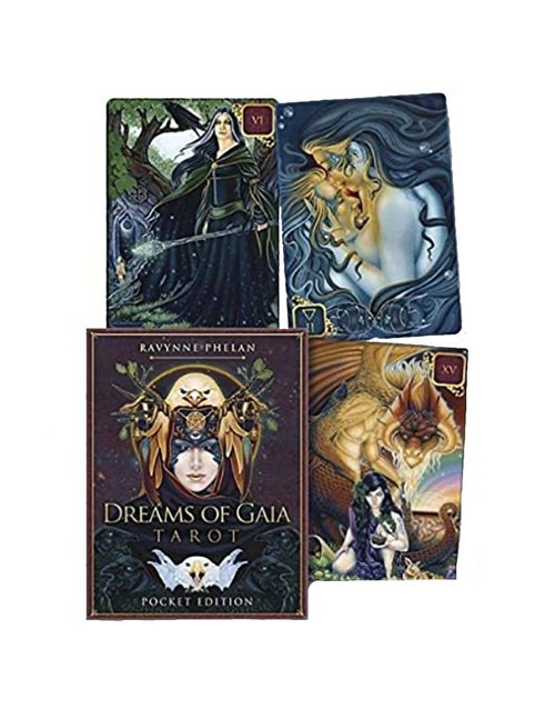 Dreams Of Gaia Tarot Pocket Size Edition By Ravynne Phelan