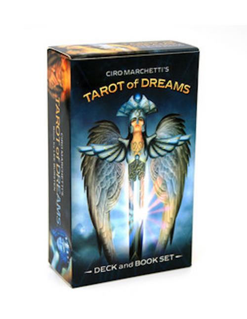 Tarot Of Dreams Deck & Book Set By Ciro Marchetti
