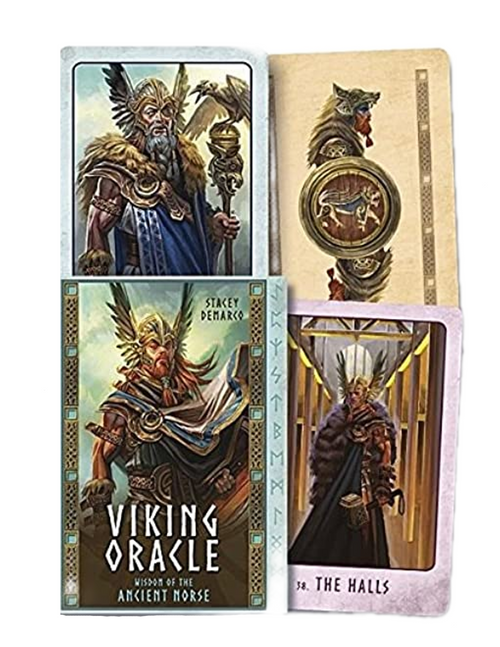Viking Oracle By Stacey Demarco : Wisdom Of The Ancient Norse