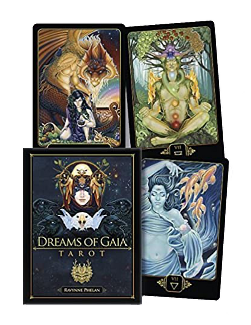 Dreams Of Gaia Tarot Deck & Guidebook Set By Ravynne Phelan