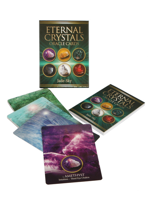 Eternal Crystals Oracle Cards By Jade Sky