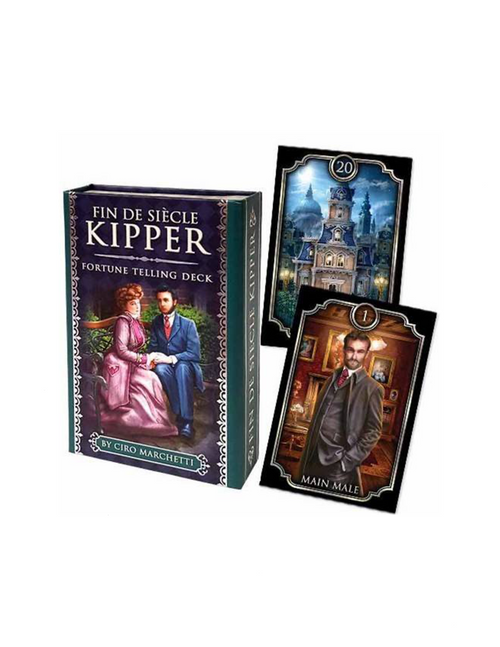 Fin De Siecle Kipper Fortune Telling Cards By Ciro Marchetti