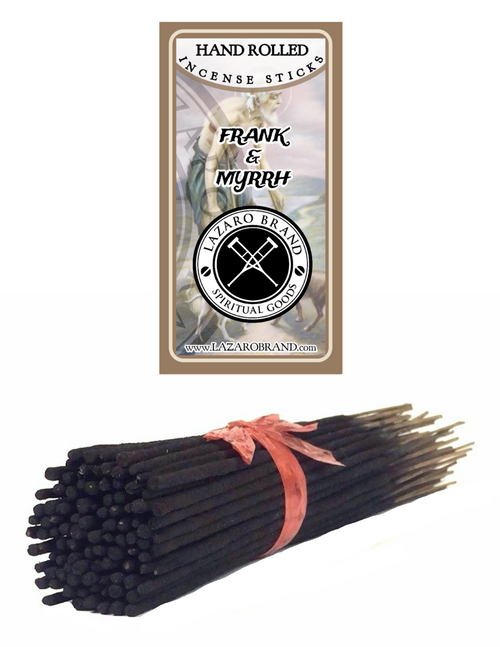 Frank & Myrrh Incense Sticks For Divine Communication Energetic Protection & Spiritual Evolution (100 Pack)