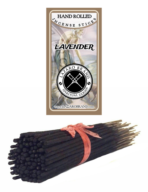 Lavender Incense Sticks To Unwind A Tense Mind Discharge Negative Energy & Relax (100 Pack)