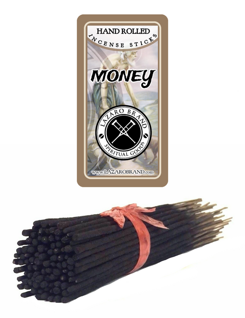 Money Incense Sticks To Attract Financial Abundance & Prosperity (100 Pack)