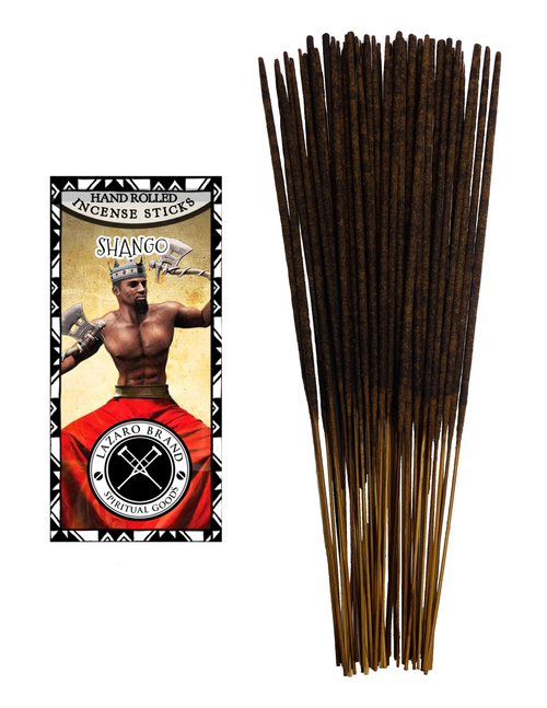 Orisha Chango (Shango) Warrior Of Lightning Thunder & Virility A Powerful Sorcerer Who Spits Fire Incense Sticks