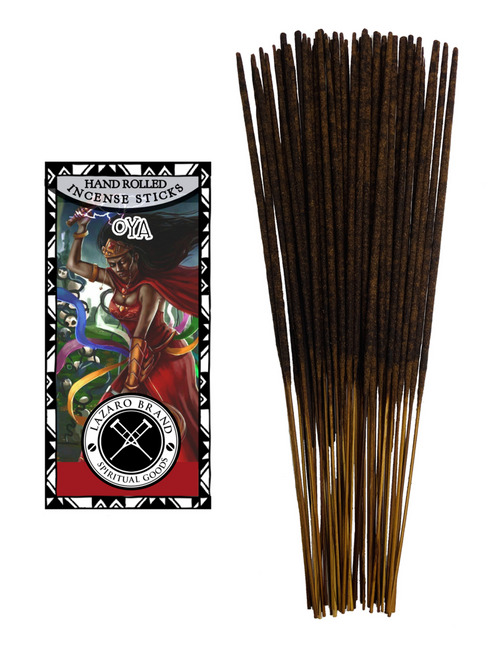 Orisha Oya Warrior Goddess Of Winds & Lightning Storms Incense Sticks