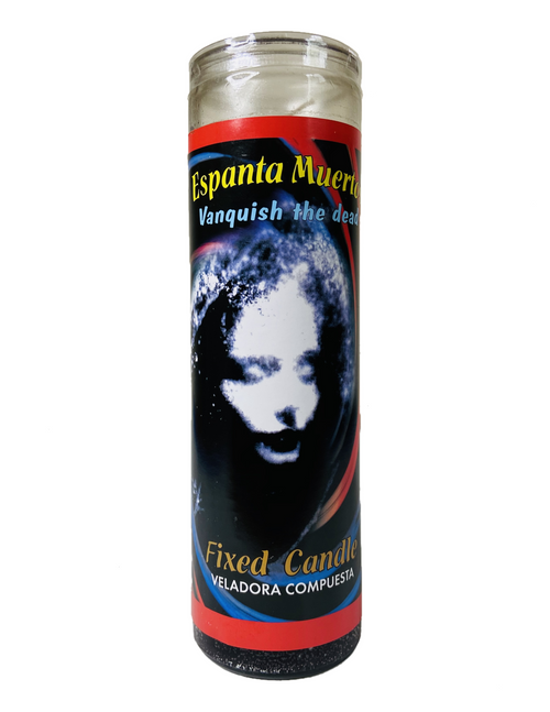 Vanquish The Dead Espanta Muerto 7 Day Prayer Candle (Scented)