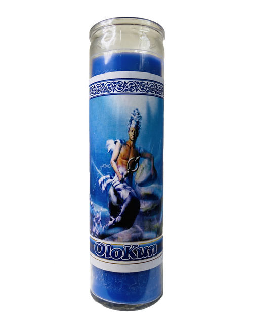 Orisha Olokun The Ruler Of The Waters 7 Day Prayer Candle For Healing