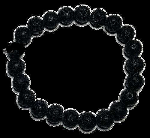 Lava Stones Spiritual Bead Bracelet (8mm Beads)