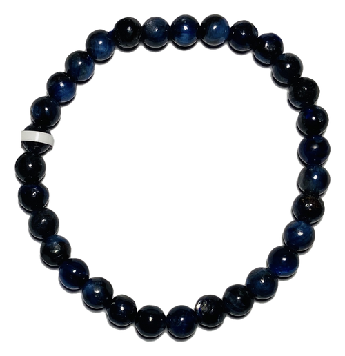 Kyanite Spiritual Bead Bracelet (6mm Beads)