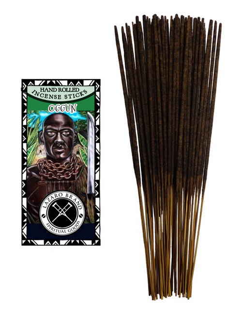 Orisha Ogun Divine Blacksmith Warrior Of Tools Weapons & Technology Incense Sticks
