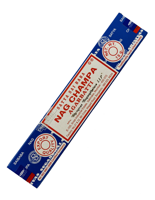 Nag Champa Incense Sticks To Heighten Your Senses During Prayer & Meditation (15 grams)