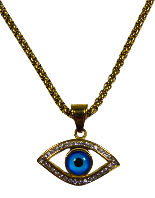 Evil Eye Protection Necklace (Version 1)