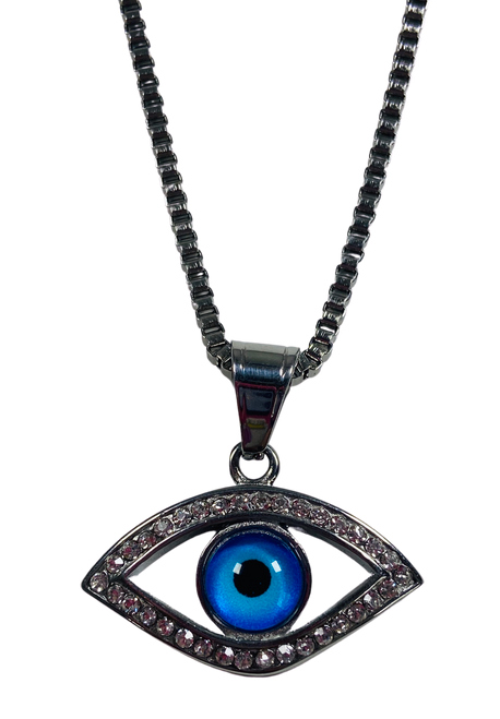 Evil Eye Protection Necklace (Version 2)