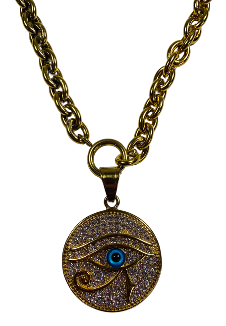 Evil Eye Protection Necklace (Version 3)