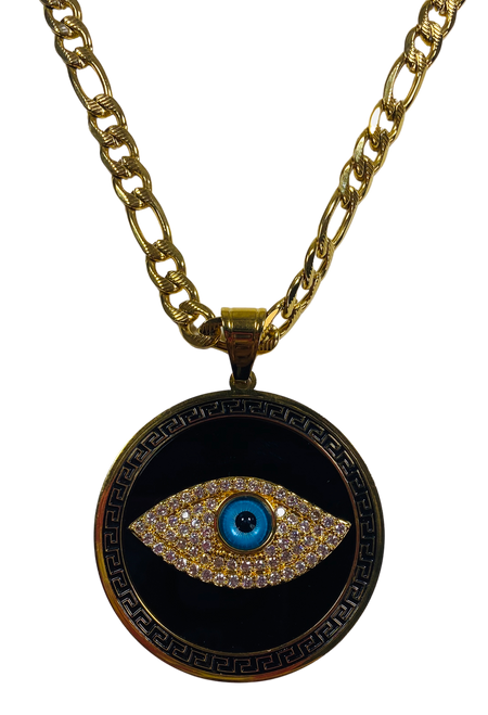 Evil Eye Protection Necklace (Version 6)