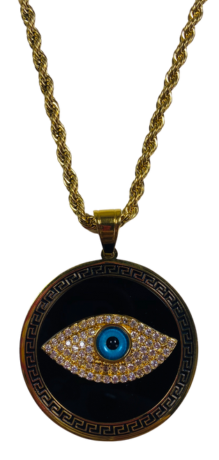 Evil Eye Protection Necklace (Version 7)