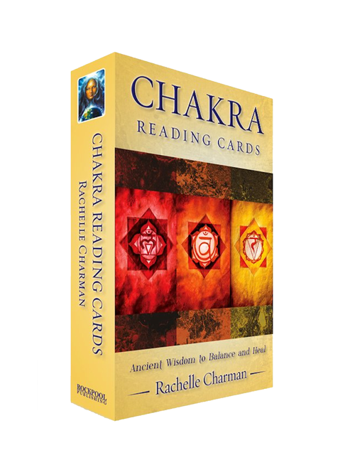 Chakra Reading Cards : Ancient Wisdom To Balance And Heal By Rachelle Charman