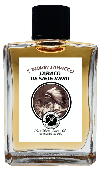 7 Indian Tabacco 7 Indios Spiritual Oil 1/2oz