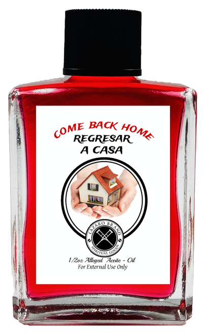 Come Back Home Regresar A Casa Spiritual Oil 1/2oz