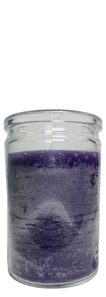 Purple 50 Hour Prayer Candle For Power, Protection, Keep Away Evil, ETC.