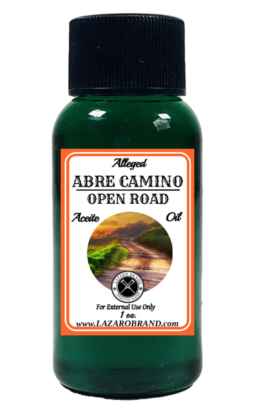 Open Road Abre Camino Spiritual Fragrance Oil To Open Your Pathway To Success & Clear Away Obstacles