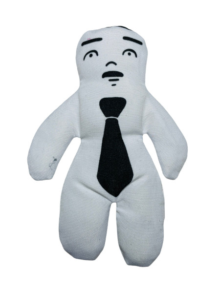 """White Man Voodoo Doll For Healing, Open Road, Etc. 4"""""""